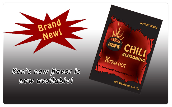 Now available, Ken's Xtra Hot!